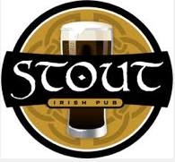 Stout Irish Pub Logo