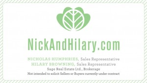 Nick and Hilary Logo