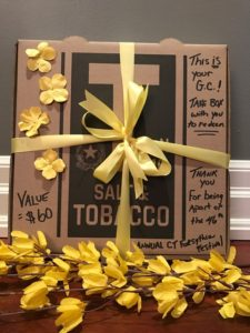 salt and tobacco gift box