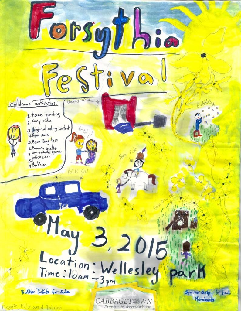 2015 Forsythia Festival Poster