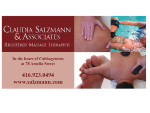 Claudia Salzmann Massage Therapy