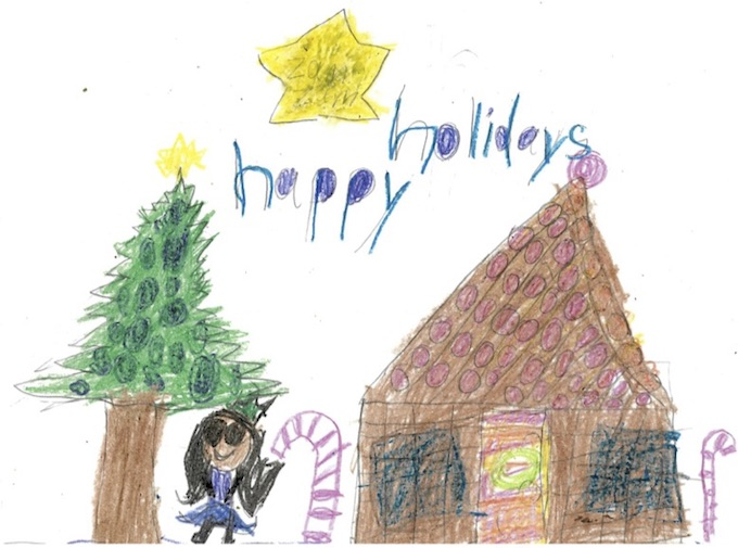 "WINCHESTER PRIMARY HONOURABLE MENTION Zam, ""Happy Holidays"""