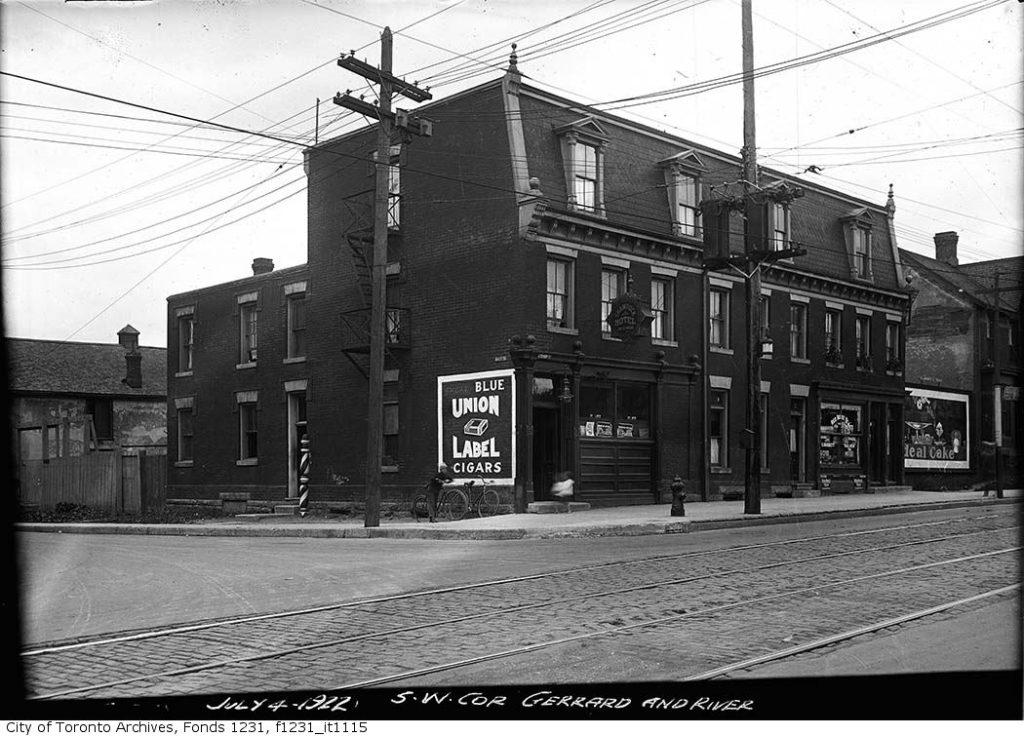 shamrock hotel 1922