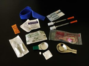 image of harm reduction kit contents