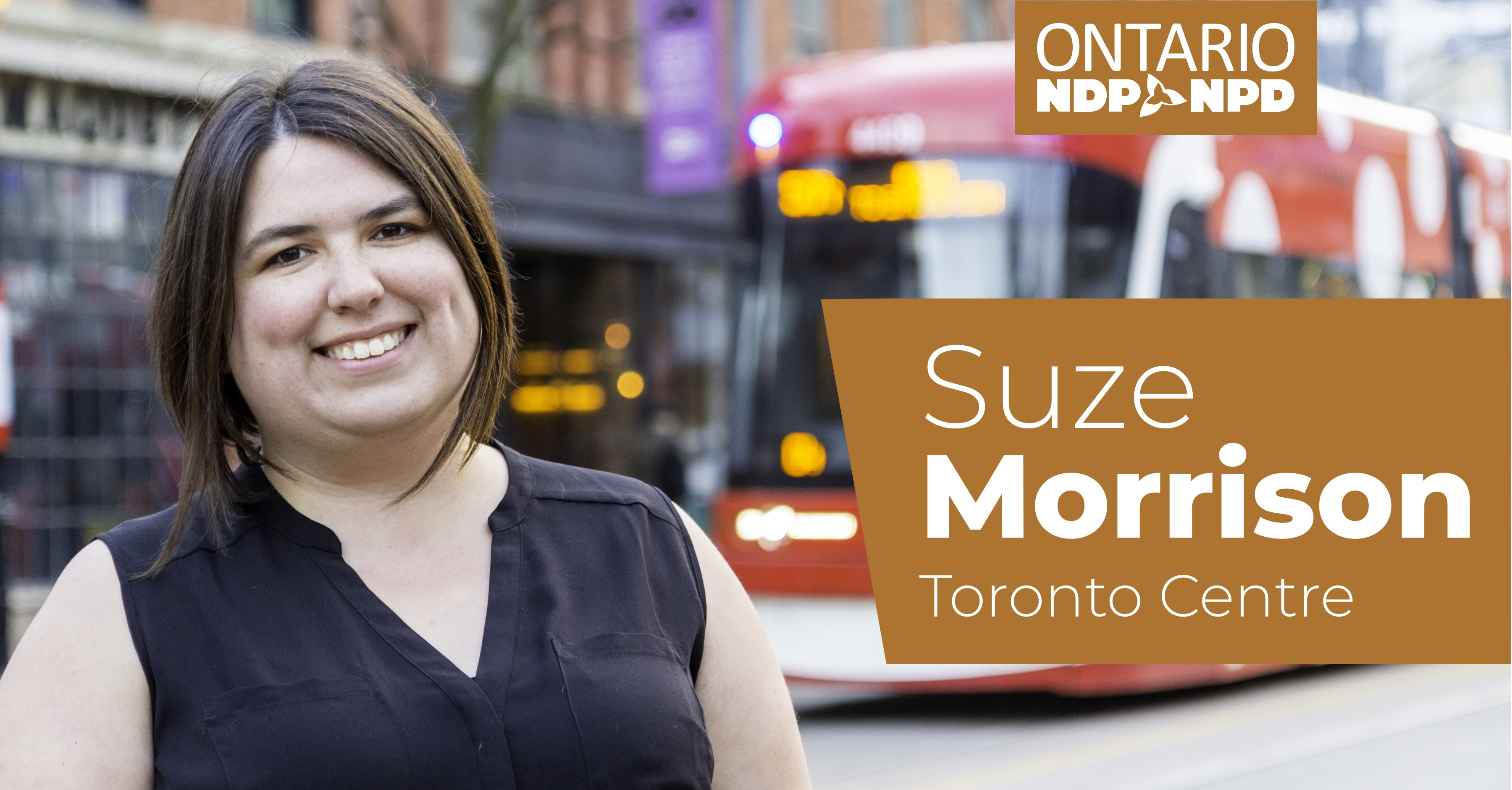 Suze Morrison: NDP Toronto Central Riding