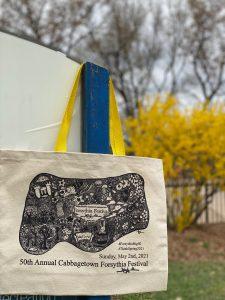 Forsythia Festival Bag front