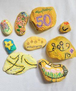 Forsythia Festival Rocks